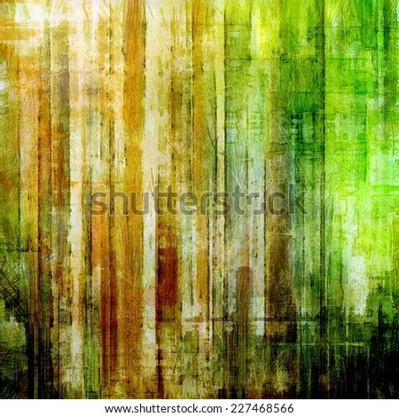 Vintage Template. With different color patterns: yellow, brown, green