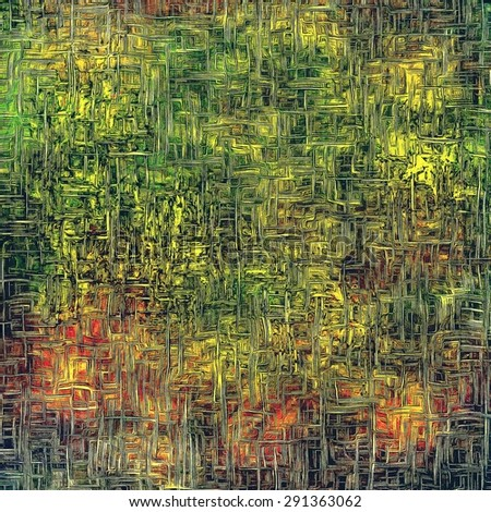 Vintage texture ideal for retro backgrounds. With different color patterns: yellow (beige); brown; green; red (orange) - stock photo