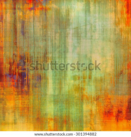 Vintage texture with space for text or image, grunge background. With different color patterns: yellow (beige); purple (violet); green; red (orange) - stock photo
