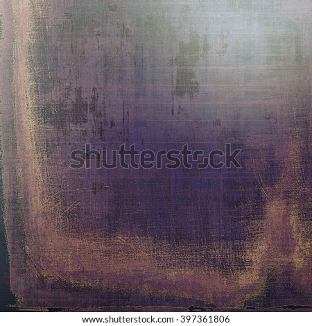 Vintage textured background with copy space. Old style backdrop with different color patterns: brown; blue; purple (violet); gray; pink