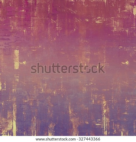 Vintage textured background. With different color patterns: brown; red (orange); pink; purple (violet) - stock photo