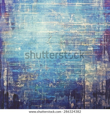 Vintage textured background. With different color patterns: gray; blue; purple (violet); cyan - stock photo
