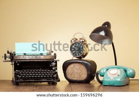 Music Typewriter Stock Images Royalty Free Images
