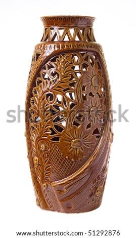 Vintage vase - stock photo
