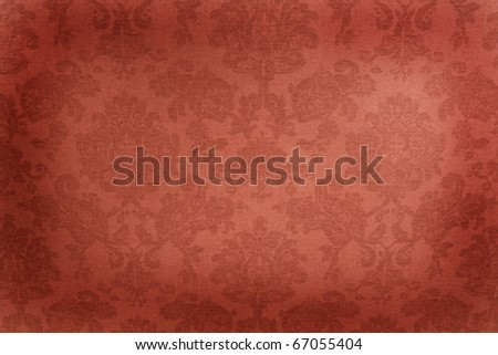 Vintage wallpaper - stock photo