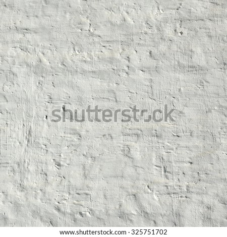 Vintage White Brick Wall Rectangle Fragment Texture Background - stock photo