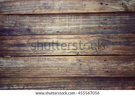 Vintage wood Old surface Wood texture Natural background Nature Design Interior - stock photo