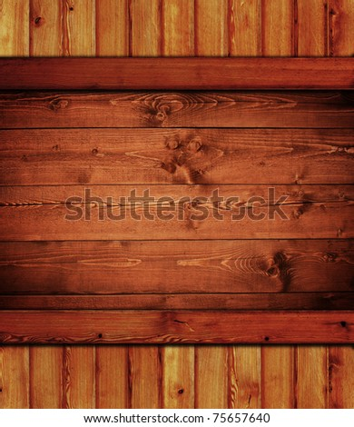 vintage wooden background - stock photo