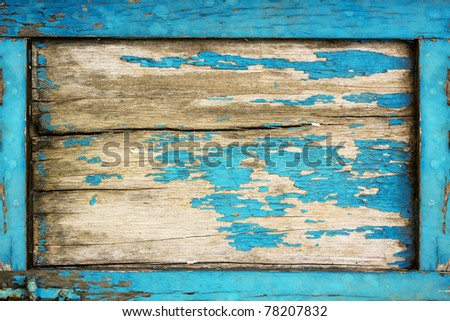 Vintage wooden of background - stock photo