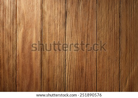 Vintage Wooden Planks Background. Top View of Wooden Table. Wood Texture with Text or Image Space. - stock photo
