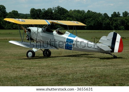 Vintage World War I Biplane