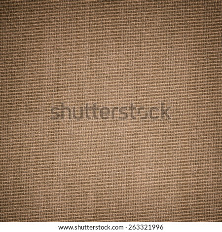 Vintage yellow-brown fabric background - stock photo