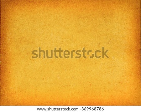 Vintage yellowed paper - stock photo