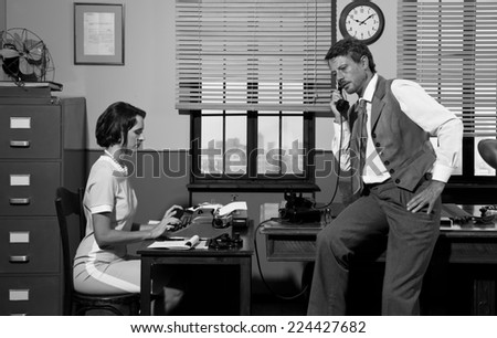 Secretary On Phone Stock Images, Royalty-Free Images & Vectors ...