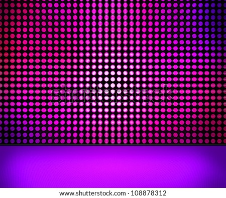 Led wall pictures