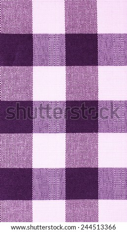 Violet Cloth Background - stock photo