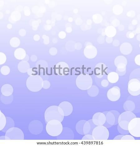 Violet Defocused Light, Abstract Illustration Bokeh Light Violet Background. - stock photo