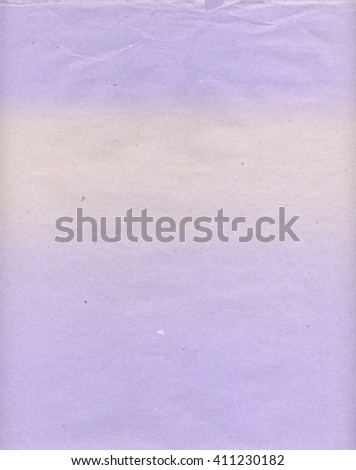 Violet paper texture background, scanned paper with an out of color stain - stock photo