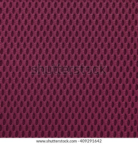 Violet red  multilayer fiber fabric texture. Close up, top view. - stock photo