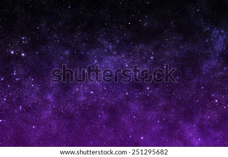 Violet Sky - Elements of this Image Furnished by NASA
