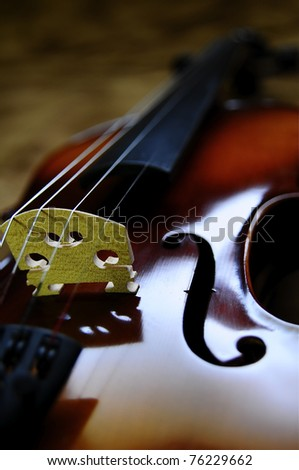 Violin 3 - stock photo
