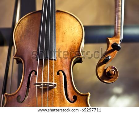 Violin Body - stock photo