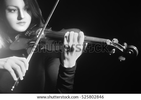 Violin player violinist Music instrument of orchestra Classical musician playing violin