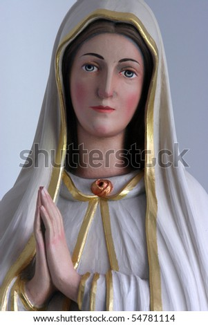 Virgin Mary - stock photo