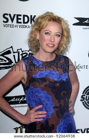 "Virginia Madsen at the ""Super"" Los Angeles Premiere, Egyptian Theater, Hollywood, CA. 03-21-11"