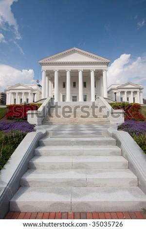 Virginia State Capitol Building, Richmond - stock photo