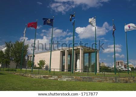 Virginia War Memorial East - stock photo