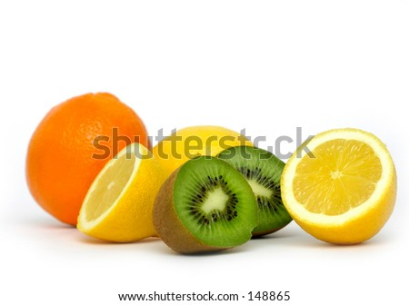Vitamin C Overload - stock photo
