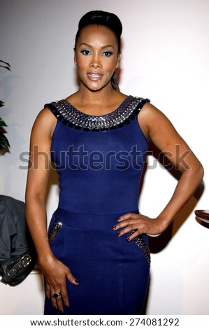 Viveca A. Fox at the 2009 Essence Black Women in Hollywood Luncheon held at the Beverly Hills Hotel in Beverly Hills on February 19, 2009.  - stock photo