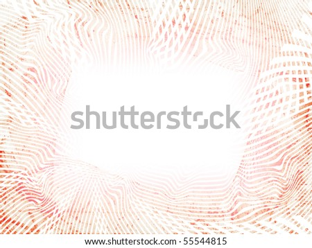 vivid abstract red frame. illustration