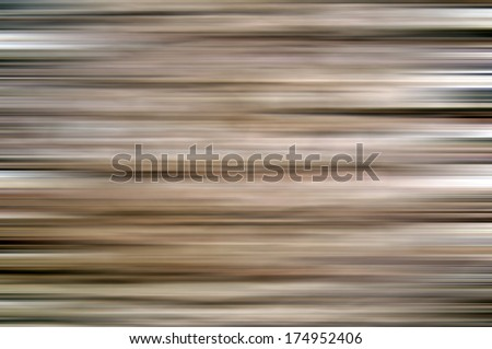 Vivid light brown abstract background made of stripes in horizontal - stock photo