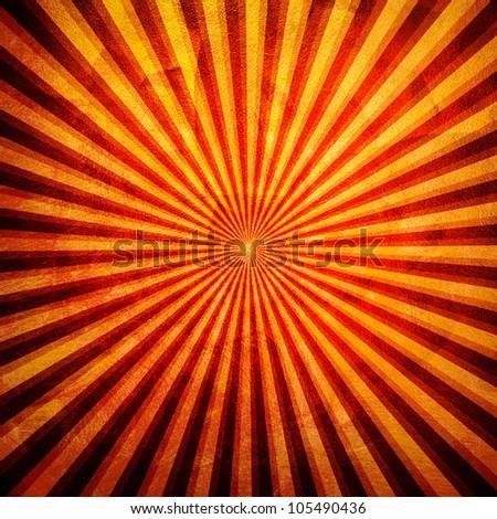 vivid ray background - stock photo