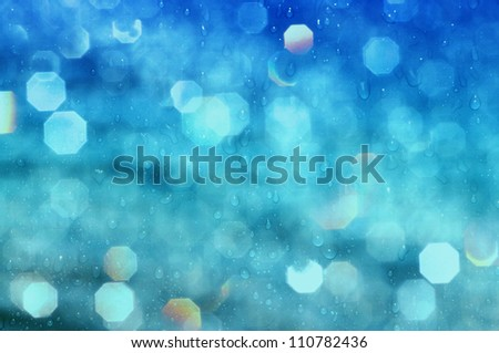 vivid water abstract - stock photo