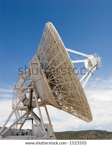 VLA part in New Mexico 8 - stock photo