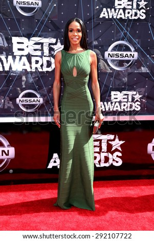 vLOS ANGELES - JUN 28:  Michelle Williams at the 2015 BET Awards - Arrivals at the Microsoft Theater on June 28, 2015 in Los Angeles, CA - stock photo