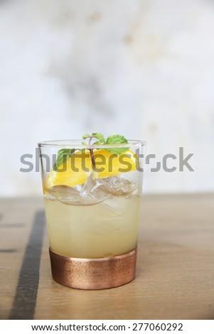 vodka cocktail - stock photo