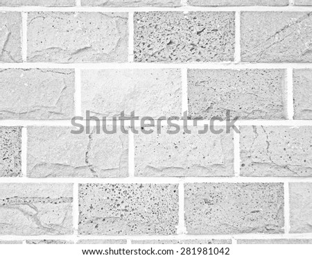 volcanic stone tile texture,black & white monotone - stock photo