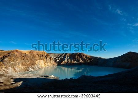 Volcano Crater Mt.Shirane Japan - stock photo