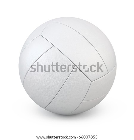 volleyball (clipping path)