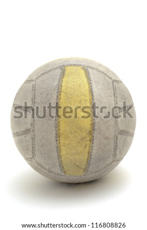 Volleyball isolated on a white background - stock photo