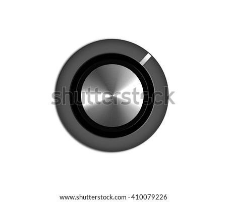 volume button - stock photo