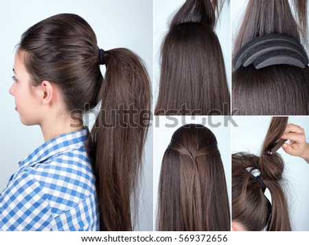 Hairstyle Stock Images Royalty Free Images &amp Vectors - Bow Hairstyles