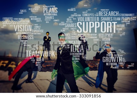 Volunteer Future Expertise Future Ideas Growth Plans Concept - stock photo