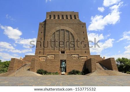 Voortrekker Monument in Pretoria, South Africa. - stock photo