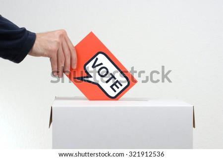 Vote - Election - stock photo