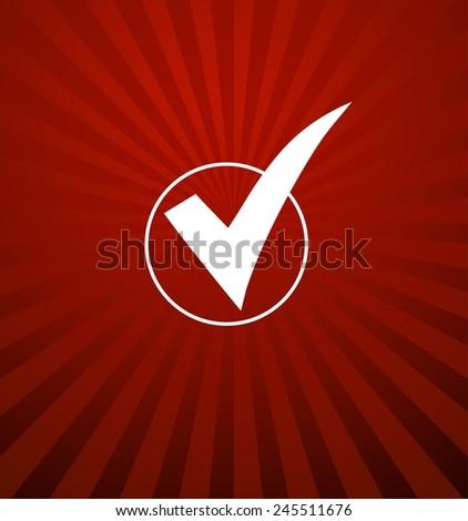 Voting Symbol - stock photo